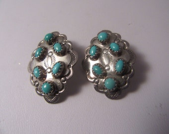 Donovan Skeets Sterling and Turquoise earrings