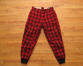 mens vintage Woolrich hunting pants