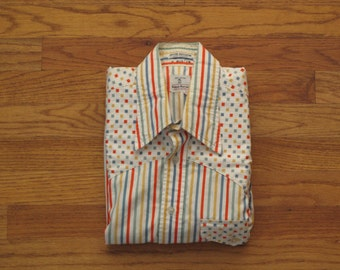 mens vintage Neiman Marcus western shirt