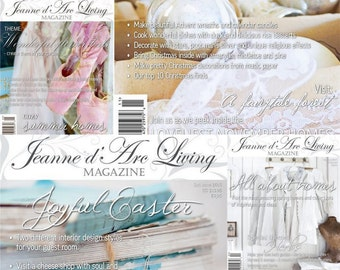 Jeanne d'Arc Living Magazines Back Issues 2015