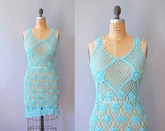 s a l e Cotton Crochet Dress / Boardwalk Sashay Dress