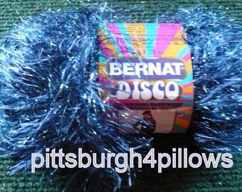 Bernat - Disco - Boogie Blue Yarn - 68110 - 1.75 Ozs.