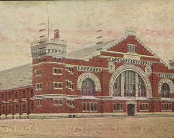The Armouries TORONTO Antique Postcard 1906 – Historic Building and Architecture