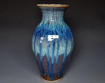Pottery Vase Stoneware Flower Vase Handmade Ceramic Vase Pottery B