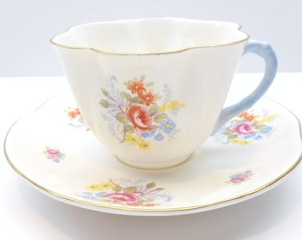 Vintage Shelley Teacup and Saucer