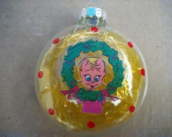Single Ornaments - Cindy Lou Who Inspired