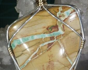 Royston Ribbon Turquoise Pendant