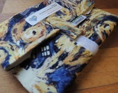 BIGGER, FRESHER Reusable Sandwich Wrap by SewEco// Triple Layered/INSULATED option/Exploding Tardis