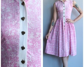 1950s Dress // Dutch Girl Lanz Dress // vintage 50s dress