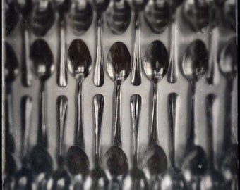 Fine art photography - Spoons - Black and white