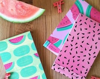 Watermelon Notepads Set