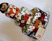 Woodland Animals Baby Diaper Cake Hedgehog Owl or Fox Shower Gift or Centerpiece