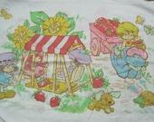 Single Strawberry Shortcake Pillow Case
