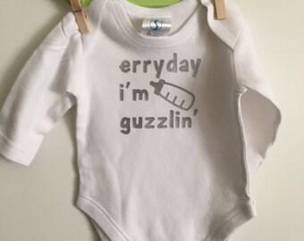 I'm Guzzlin Onesie