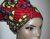 """African print DIY Head wrap 22""""x76""""/ African Head Scarf/ African head wraps/ African Hair Supplies/ DIY Head wrap fabric"""