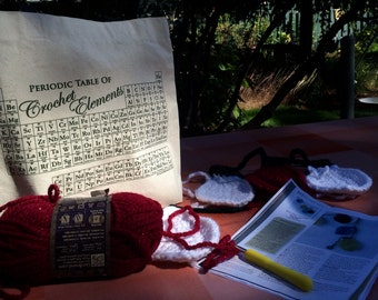TOTE: Periodic Table of CROCHET Elements