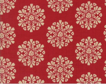 Madame Rouge - Soleil in Rouge by French General for Moda Fabrics