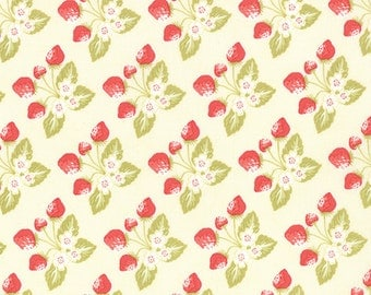 Strawberry Fields Revisited - Strawberry Jam in Daisy by Fig Tree & Co for Moda Fabrics - Last Yard