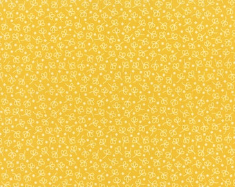 Bread 'n Butter - Simple Leaf in Yellow by American Jane for Moda Fabrics