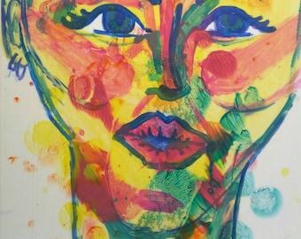 What original acrylic painting