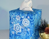 Snowflakes Tissue Box Cover