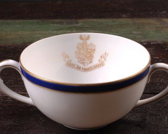 Hotel Sir Francis Drake, San Francisco, Bouillon / Cream Soup Bowl