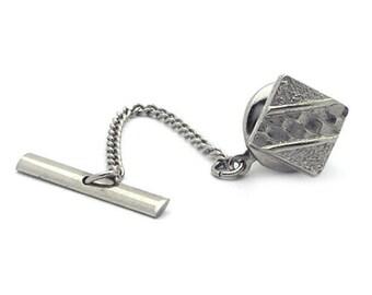 Vintage Silver Tone Tie Tac/Lapel Pin #563