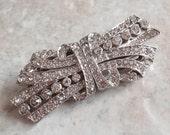 Clip-Mates Brooch Trifari TKF Dress Clips Dual Purpose Pat 2050804 Vintage 011515HE