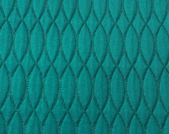Green Quilted Curtain Fabric By The Yard Upholstery Fabric Drapery Fabric Window Treatment Fabric Sofa Fabric