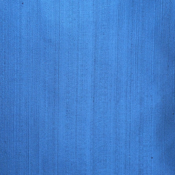 Blue Plain Satin Texture Fabric By The Yard Curtain Upholstery Panels Drapery Window Treatment From FabricMart On Etsy