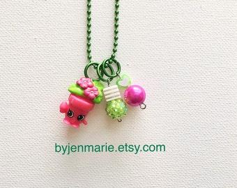 Shopkin Charm Necklace Peta Plant Season 4