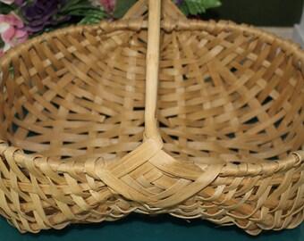 Wicker Handled Basket