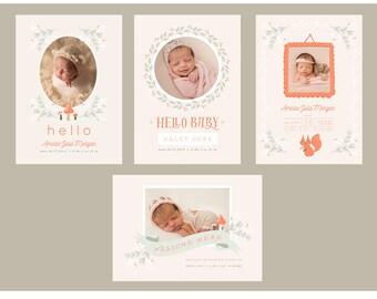 Woodland Girl 5x7 WHCC Cards