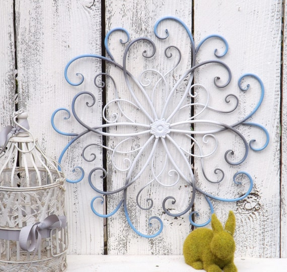 Metal Wall Decor For Bedroom : Large metal wall art bedroom decor spa by