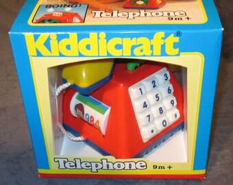 Fisher-Price Kiddicraft Telephone mint in box