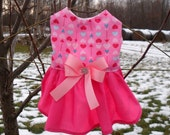 Valentine's Day Dog Dress SALE