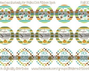 4x6 Polka Dot Ribbon Spot Fall 2015 Bottle Cap Image BCI