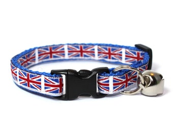 Union Jack Breakaway Cat Collar