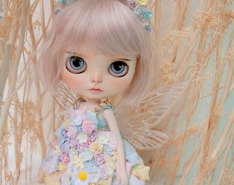 Blythe Fairy Collection  with Flowers Headband