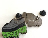 Enamel Pin: Creeper Shoe - Hard Enamel 1.25""