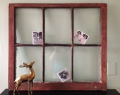 Antique Six Pane Window Frame 31 x 28
