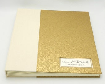 Extra Large Personalized Photo Album, Photo Booth Album, Photo Guest Book, 11x11 Design your Own, Made to Order