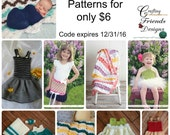 Limited Time: Crochet Pattern Sale -  6 for 6 Dollars