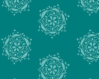 Bejeweled Seal Teal  LAH-26808 - LAVISH -  Katarina Roccella for Art Gallery Fabrics - By the Yard