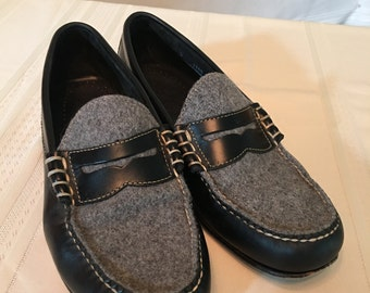 Mens G.H. Bass & Co. handcrafted Weejuns Leather Loafers