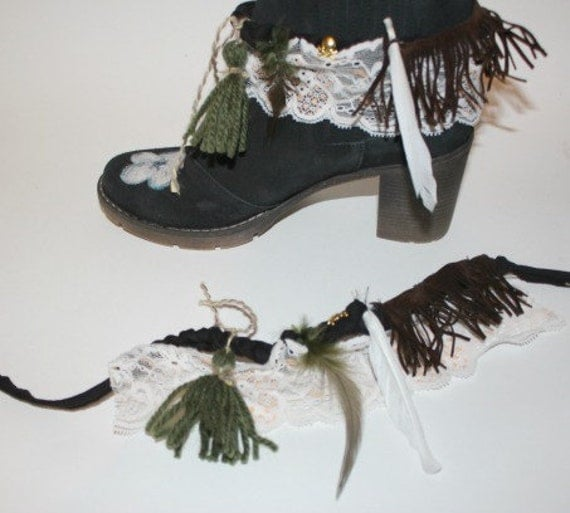 Barefoot sandals, wedding sandals, boho  anklets- anklet wraps - festival barefoot sandalsBoot cuffs -boot wraps - boho boot cuffs, festival