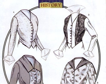 Butterick Making History B4091 Sewing Pattern for Misses' 1914 Basque Shirt - Uncut - Size 6-8-10