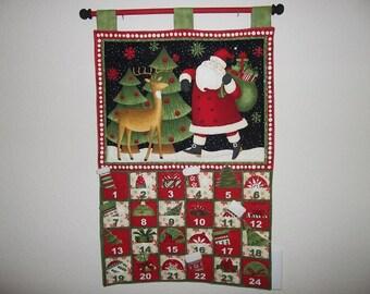 Christmas Advent Calendar - Santa and Reindeer