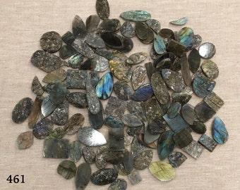 Laboradorite rough cut loose stones