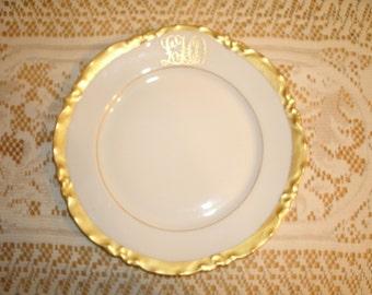 Four W B Lycett & Son Luncheon Plates